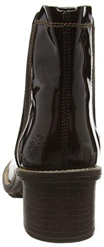 FLY London Damen Calk695fly Chelsea Boots Braun (Mocca/Tan 002)