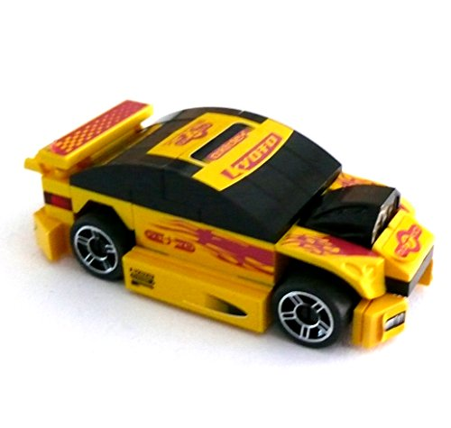 LEGO ® - Auto Polizeiauto Police Car Polizei Fahrzeug Polizeiwagen - Länge ca. 9 cm
