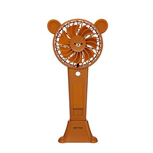 aufladbare Kühlventilator Nette Tier Nebel Wasser Spray Ventilator (Fan, Sprays Wasser)