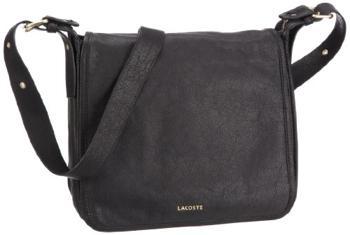 LacosteMessenger Bag - Borsa messenger Donna nero (nero)