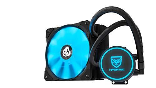 Nfortec Hydrus V2 Refrigeración Líquida 1200mm con Ventilador LED Blue de...