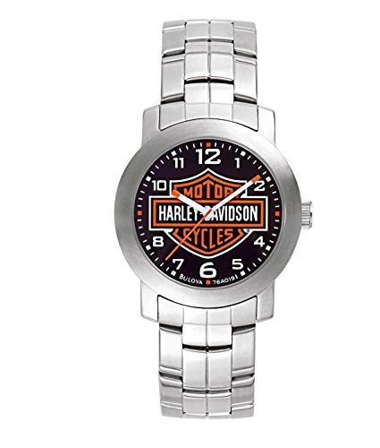 Harley Davidson - 76A019 - Montre Homme - Quartz Analogique - Bracelet Acier Inoxydable Argent