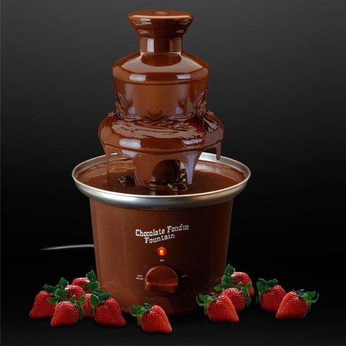 Storepoint Schokoladenbrunnen mit 3 Etagen - ideal für Schokoladenfondue