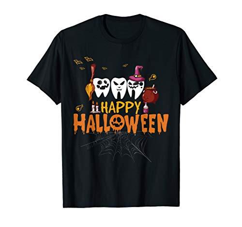 Happy Halloween Scary Dental Dentist T-Shirt