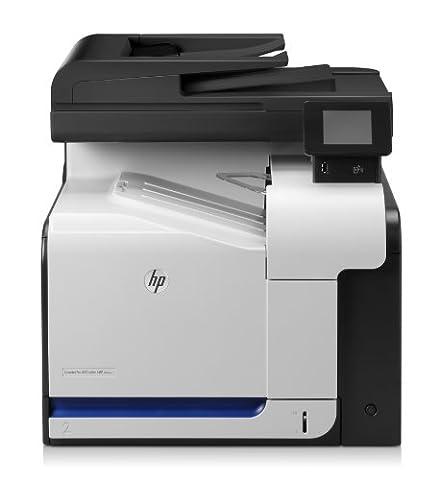 HP LaserJet Pro 500 M570dw e-All-in-One Farblaser Multifunktionsdrucker (A4, Drucker, Scanner, Kopierer, Fax, Wlan, Ethernet, USB,