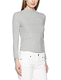 Pieces Pcamy Ls Turtleneck Top Noos, Pull Femme