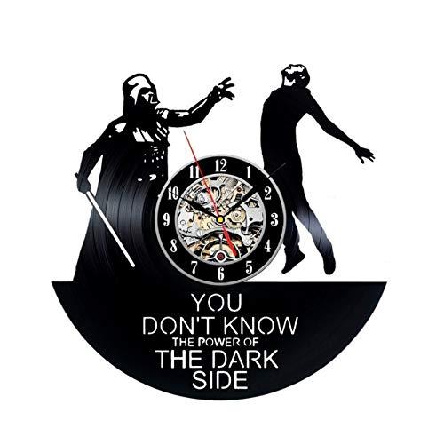 EdmendYang Hecho a Mano Reloj de Vinilo Star Wars Darth Vader