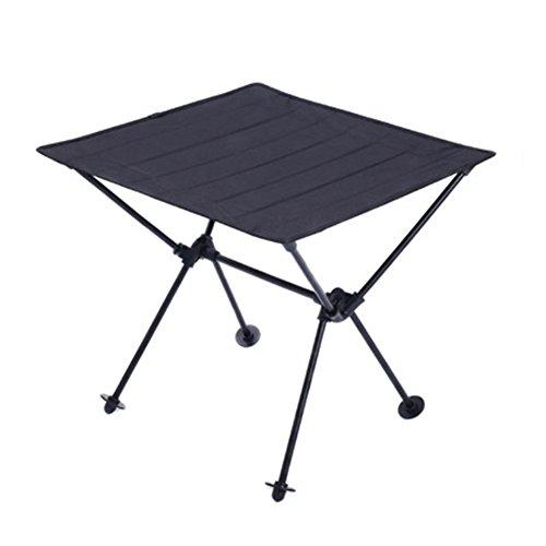 iBaste Ultraleicht Klapptisch Aluminium Campingtisch Klappbar Folding Table Camping Mini Gartentisch...
