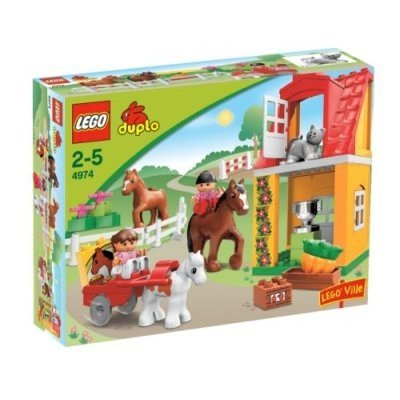 LEGO-DUPLO-4974-Horse-Stables