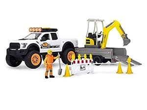 Dickie- Vehículo de Juguete con Figura y Accesorios, Multicolor (3838004)