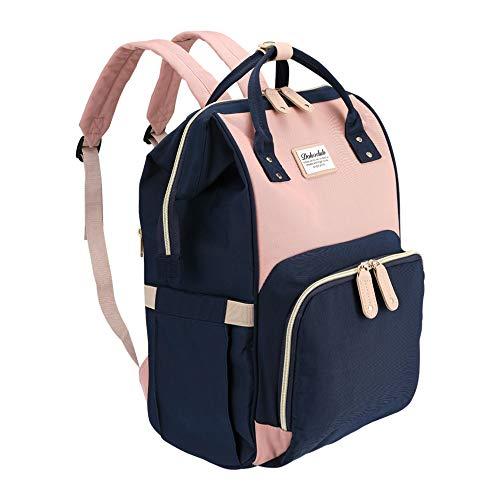 Baby Wickelrucksack Wickeltasche - Multi-Funktions-Wasserdichte Mutterschaft Wickeltaschen für Reisen mit Baby