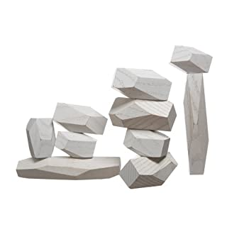 Areaware - Balancing Blocks white/weiss