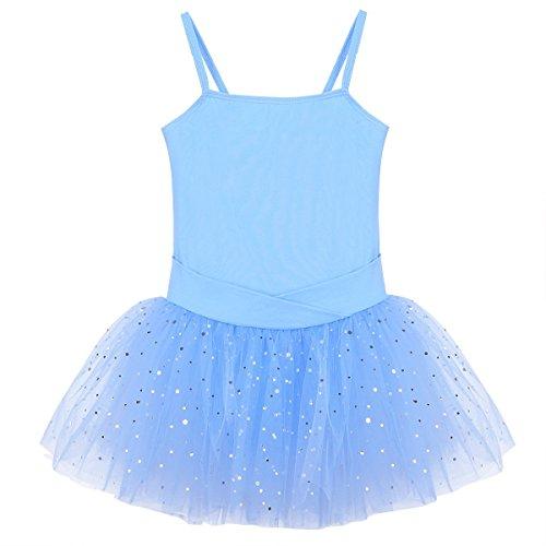 """tanzmuster Kinder Ballett Trikot /""""Betty/"""" dunkelblau Ballettkleid Ballettanzug"""