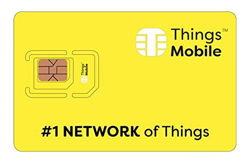 Die Prepaid-SIM-Karte Things Mobile für IoT und M2M mit weltweiter Netzabdeckung und 10€-Guthaben ohne Fixkosten. Ideal für Domotik, GPS Tracker, Telemetrie, Alarme, Smart City, Automotive.