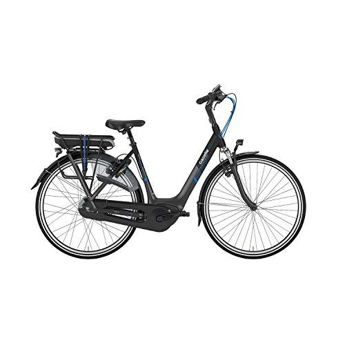 Gazelle Orange C330 HMB 500Wh Nuvinci Damenfahrrad Bosch E-Bike Pedelec 2018, Farbe:schwarz, Rahmenhöhe:49 cm