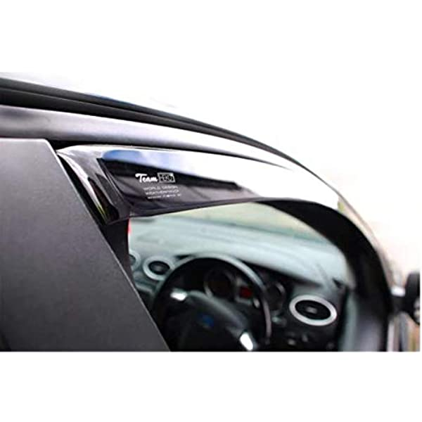 Wind Deflectors Rain Guards 5 Doors Model Only Tinted Heko WD17117-4880 Full Set front and rear