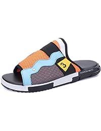 GLTER Sandales à talons ouverts Été Nouveaux chaussures de plage Chaussons frais Chaussures personnalisées de mode loisirs