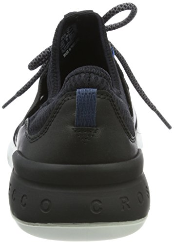 Ecco Cross X, Sneakers Basses Homme Noir (Black/black)