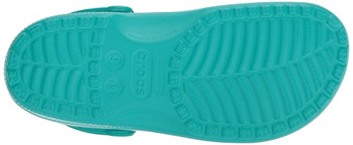 Crocs - Kids Cayman Racer, Casual Unisex – Adulto Blu (Tropical Teal)
