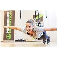 XB AMZ Yoga, Bungee Cord, Fitness Workout Antena Antigravedad Banda De Resistencia Equipo De Gimnasio En Casa, Peso Adecuado 80-180 Libras 60Kg-110Kg.