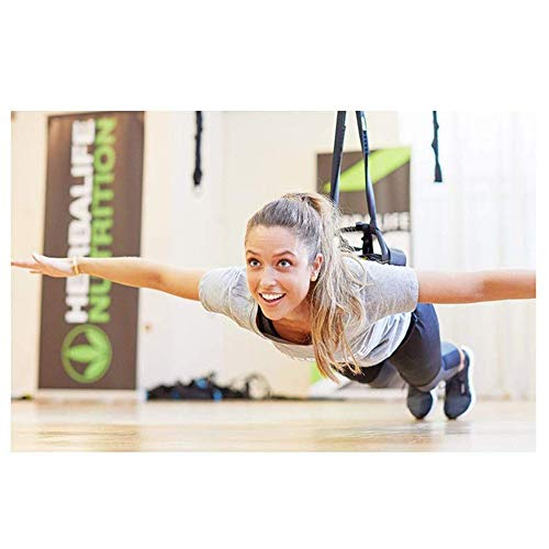 AMZ BCS Yoga, Bungee Cord, Workout Fitness Antenne Antigravity Widerstand Band Home Gym Equipment, geeignet Gewicht 80-180 Pfund 60kg-110kg.