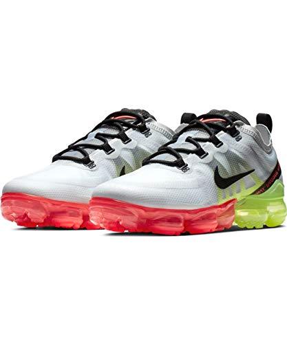 best sneakers edebd d8f7a Nike Air Vapormax 2019, Zapatillas de Atletismo para Hombre, (Pure  Platinum Black