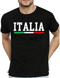 Camicie E Italia Amazon it Bandiera T ShirtPolo Shirt 80wOvmnN