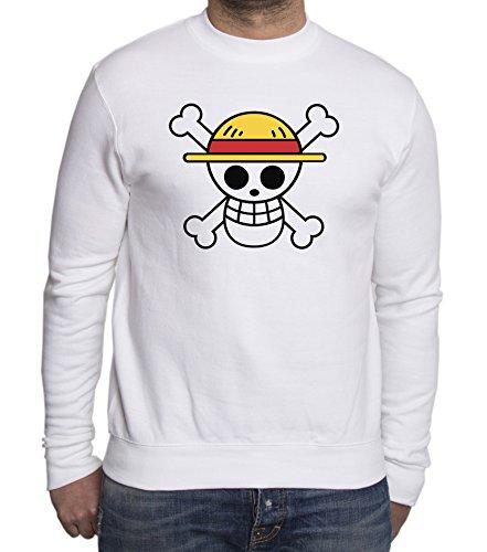 Sambosa - Sweat-Shirt - Homme Blanc Blanc 3XL