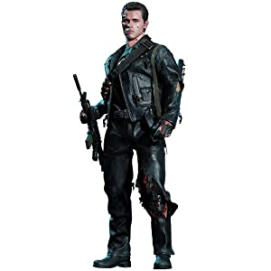 Movie-Masterpiece-DX-Terminator-2-16-scale-figure-T-800-Battle-Damage-version-second-shipment-japan-import