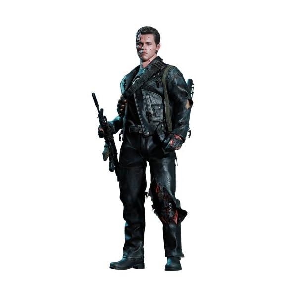 "[Movie Masterpiece DX] ""Terminator 2"" 1/6 scale figure T-800 (Battle Damage version) (second shipment) (japan import) 1"