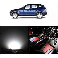 WLJH 13x Blanco puro Canbus Error Paquete de kit de luz LED para automóvil gratis para