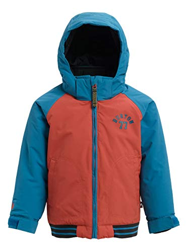 Burton Jungen Minishred Gameday Snowboard Jacke, Hot Sauce/Celestial, 4T 4t Jacke
