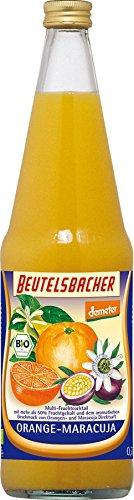 Beutelsbacher Bio Orange-Maracuja (6 x 700 ml) (Bio-obst-saft Orange)
