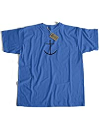 Old Skool Hooligans Captain Haddock Anchor T Shirt