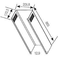 Fagor ATC-409 X accesorio para campana de estufa - Accesorio para chimenea (Acero