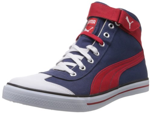 Puma Men's 917 Mid 2.0 Blue Canvas Sneakers - 6 UK/India (39 EU)  available at amazon for Rs.1434