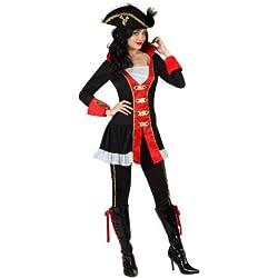 Disfraz de pirata para mujer, XL.