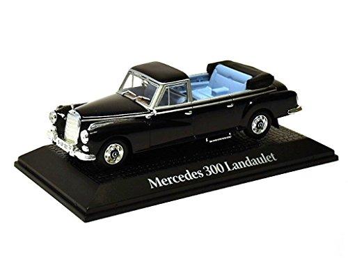Staatskarosse Deutschland 1963 Mercedes Benz 300 Landaulet Konrad Adenauer Metall Miniaturmodelle Modellauto 1:43 Norev for Atlas