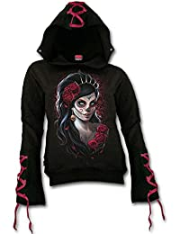 Spiral Hoodie Women's - Day of The Dead K026F262