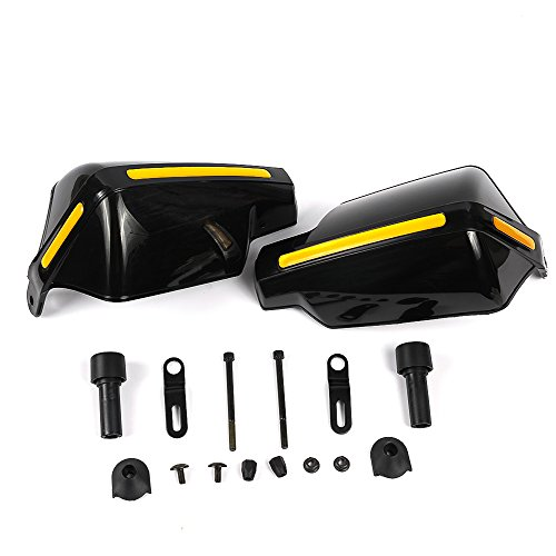 Nawenson - Protectores universales de manos de alta calidad para motocicleta (2...