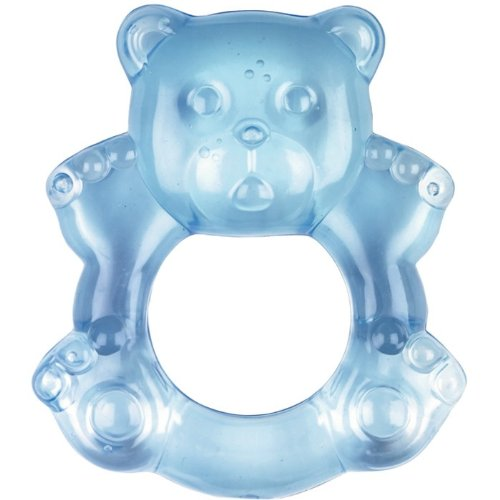 Baby Charms Teething Ring, Light Blue, Model# 11154 41zQO38cEDL