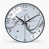 JGcabin Moderno Orologio da Parete da 12 Pollici Minimalista di Alta qualità, Adatto per Camera da Letto, Soggiorno Sognare 30 * 30cm