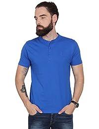 Urban Nomad Blue Cotton T-shirt