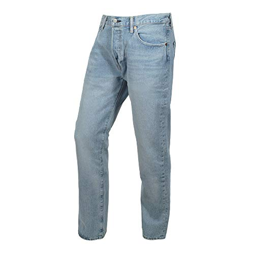 Herren Levis 501 Original Jeans (Levis Herren Jeans 501 ORIGINAL FIT 00501-2550 Hellblau, Hosengröße:32/34)