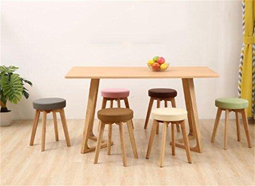 Wooden stool tavolo in legno massello e sgabello sgabello art in
