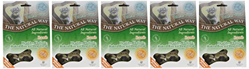Natural Way Lamb Dog Biscuits, Small Bone Natural Treats 300 g (Pack of 5) 2