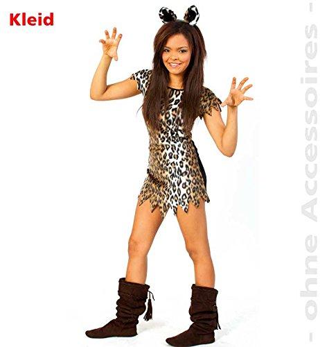 Mädchen Kostüm Katze/Leopard