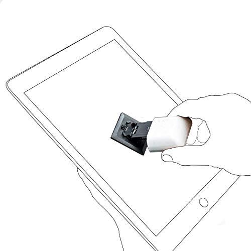 CarbonKlean ScreenKlean Innovativer Reiniger Für Display Tablet Smartphone E-Reader Bildschirmreiniger Displayreiniger