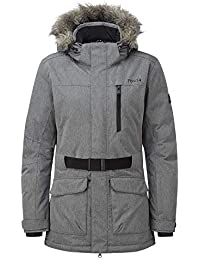 7a3e6c8e775 Tog24 Aria Womens Waterproof Insulated Ladies Parka Ski Jacket with Faux Fur