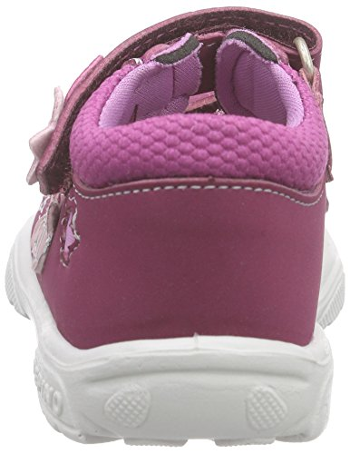Ricosta Kibbie, Sandales ouvertes fille Rose - Pink (fuchsia/candy 325)